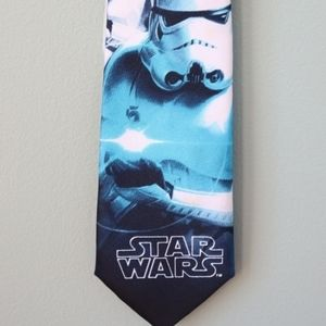 RARE Star Wars Storm Trooper Polyester Tie